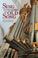 Sing to the Lord an Old Song Book