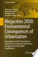 Megacities 2050 Environmental Consequences Of Urbanization Book PDF
