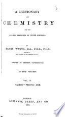 A Dictionary of Chemistry and the Allied Branches of Other Sciences: Nacrite-pyruvic acid