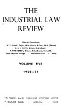 The Industrial Law Review