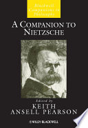 A Companion To Nietzsche Book PDF