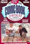 2000 Comic Book Checklist and Price Guide