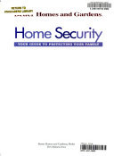 Home Security Book PDF