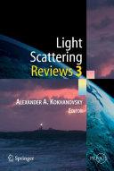 Light Scattering Reviews 3