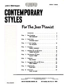 Contemporary styles for the jazz pianist