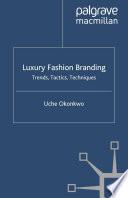 Luxury Fashion Branding Book