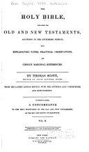 Old Testament.- v. 3. New Testament