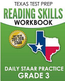 Texas Test Prep Reading Skills Workbook Daily Staar Practice Grade 3