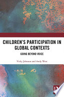 Children S Participation In Global Contexts