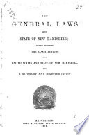 The General Laws of the State of New Hampshire