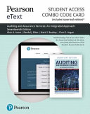 Auditing and Assurance Services Pearson Etext Combo Access Card