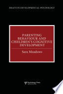 Parenting Behaviour and Children s Cognitive Development