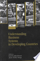 Understanding Business Systems in Developing Countries