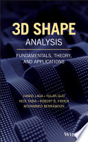 3D Shape Analysis
