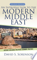 An Introduction to the Modern Middle East Book