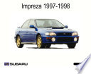 Subaru Impreza 1997-1998 Workshop service repair manual