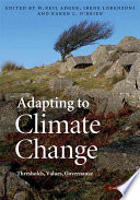 Adapting To Climate Change Book PDF