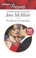 The Return of Antonides: Christmas at the Castello (Bonus Novella)