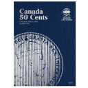 Canada 50 Cents Coin Folder Number Two