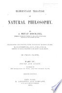Elementary Treatise on Natural Philosophy  Sound and light