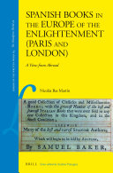Spanish Books in the Europe of the Enlightenment (Paris and London)
