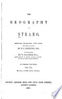 The geography of Strabo, Geography English