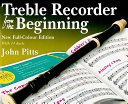 Treble Recorder from the Beginning Book