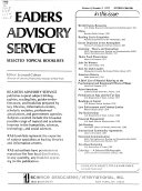 Readers Advisory Service
