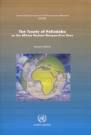 The Treaty of Pelindaba on the African Nuclear-weapon-free-zone