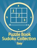 Puzzle Book  Sudoku Collection Easy