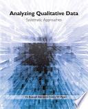 Analyzing Qualitative Data Book