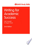 Writing for Academic Success Book