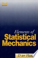 Elements of Statistical Mechanics