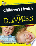Children S Health For Dummies Book