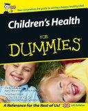 Children s Health For Dummies