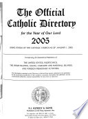 Official Catholic Directory Anno Domini ...