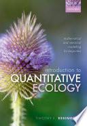 Introduction to Quantitative Ecology
