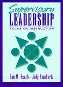 Supervisory Leadership Book