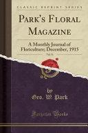 Park's Floral Magazine, Vol. 51