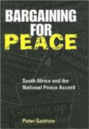 Bargaining for Peace