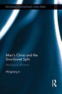 Mao's China and the Sino-Soviet Split [Pdf/ePub] eBook