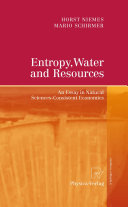 Entropy, Water and Resources Pdf/ePub eBook