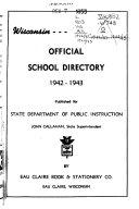 Wisconsin Public School Directory