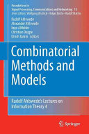 Cover image of Combinatorial methods and models