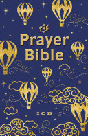ICB Prayer Bible for Children   Navy and Gold