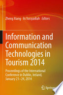 Information and Communication Technologies in Tourism 2014 Book