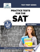 Practice Tests For The SAT