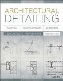 Pdf Architectural Detailing Telecharger
