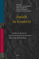 Isaiah in Context