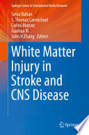 White Matter Injury In Stroke And Cns Disease Book PDF